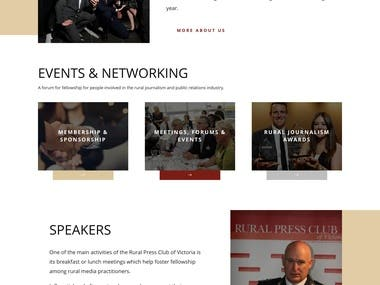 Corporate Website(CLUB)
