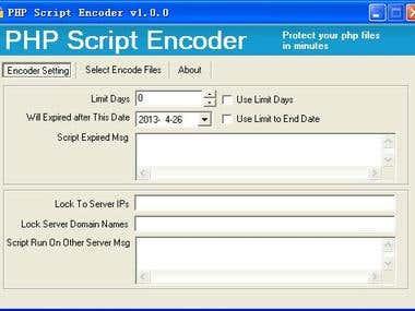 PHP Script Encoder