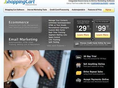 Ecommerce Homepage Redesign