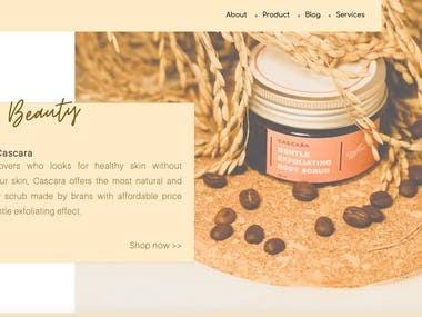 Company Profile Website