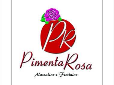 Logomarca Pimenta Rosa