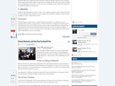 Latest News web