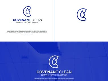 Logo design for a cleaning company