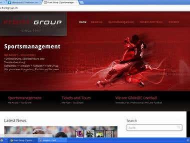 Front Group Portal | Switzerland