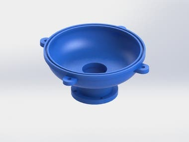 Cup product plastic material