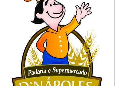 Logomarca Padaria D'Napoles