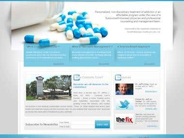 Celebrity Care Medical Clinic WordPress Website
