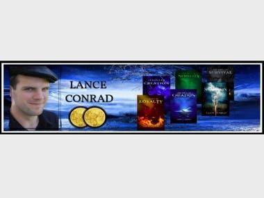 Author Lance Conrad Website Banner