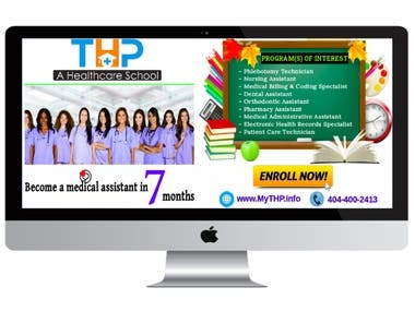 THP MedSchool Call-to-action Design