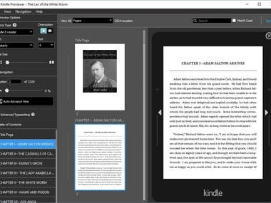 PDF to Kindle (mobi)