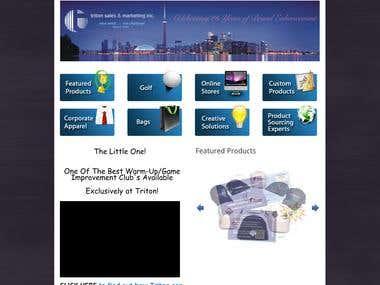 Triton Promo Website