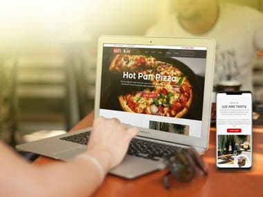 SOFTEK.IE RESTAURANT WEBSITE AND ANDROID & IOS APPLICATION