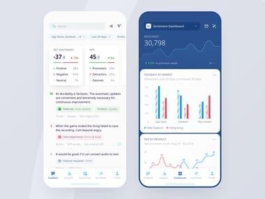 Dashboard App Design Concept