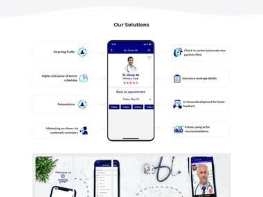 Mawidy app promotion website