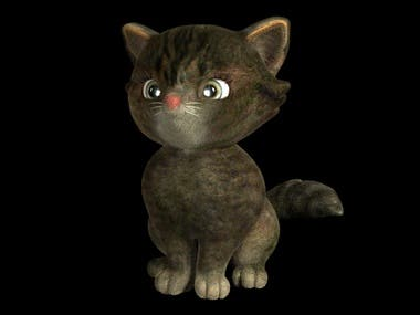Cat model & Render