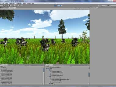 Ecosystem in Unity 3D