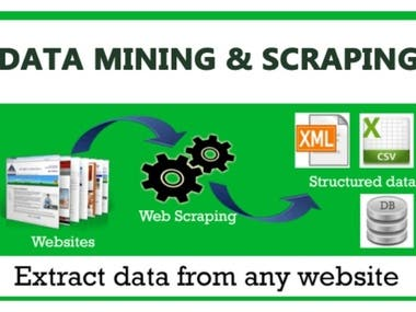 Web Scraping, Crawling and Automation