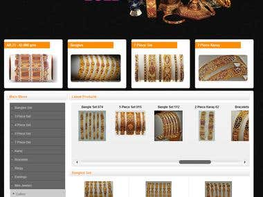 Al-Burooj Gold Joomla Website