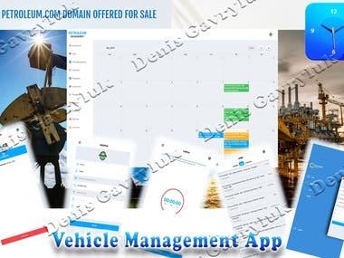 Vehicle management app