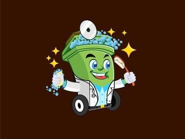 The bin Doctor. Logo design
