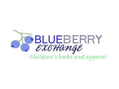 Logo contest entry blueberry exchange