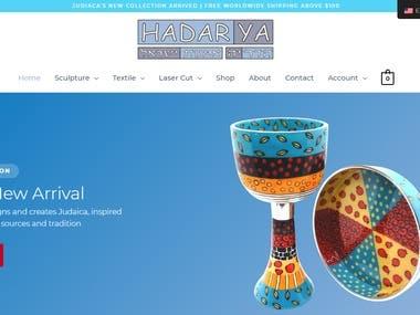Build a website - www.hadarya.com