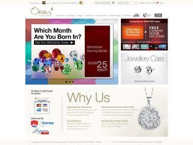 Jewellery E-commerce