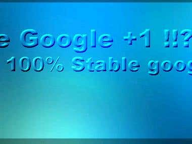 Stable Google Plus