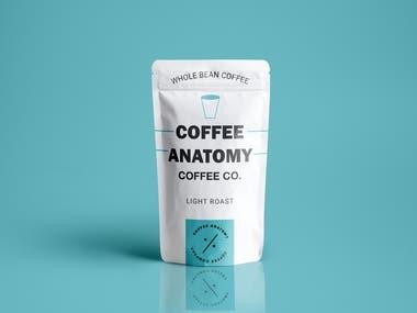 Cofffee Anatomy Product Design