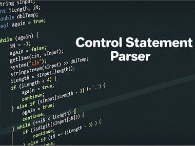 Control Statement Parser