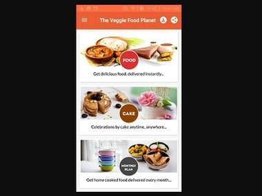 Veggie Food Planet App - A Multi-Vendor Food Ordering App