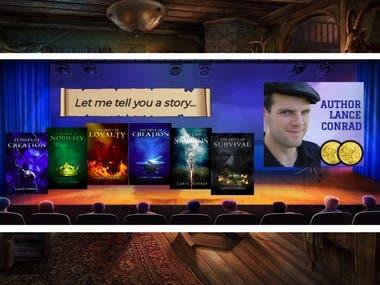 Author Lance Conrad Website Banner #2