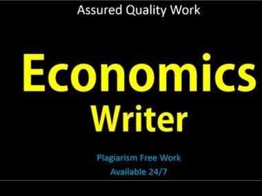 economic writeup
