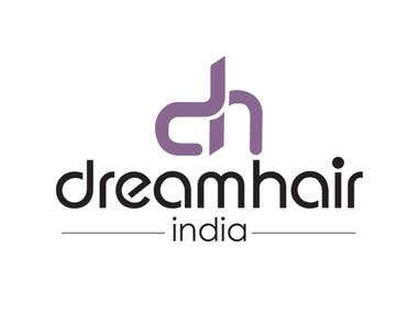 Logo for DreamHair Salon Chennai