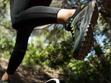 ASICS SHOES POSTER