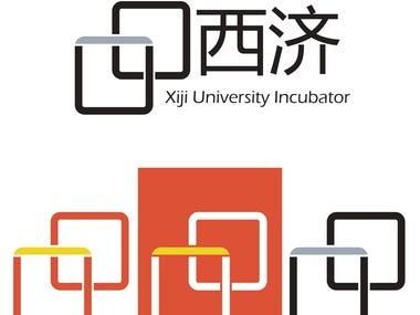 Xiji University Incubator logo