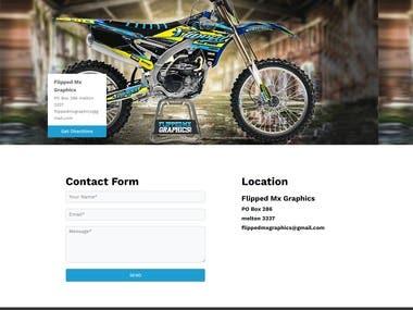 Modern E-commerce Website For Bike Kits