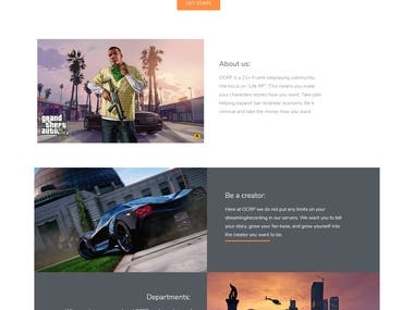 Landing Page Design And Develpoment