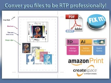 Converting your file to be ready for print