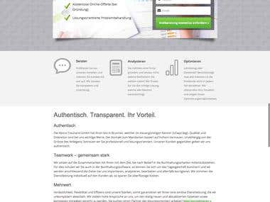 PSD to Wordpress Responsive Theme - abora-treuhand.ch