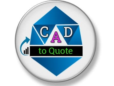 """Stylish Logo Design for """"CAD to Quote"""""""