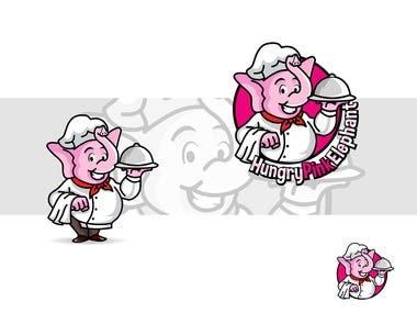 Illustration logo for Social Networking