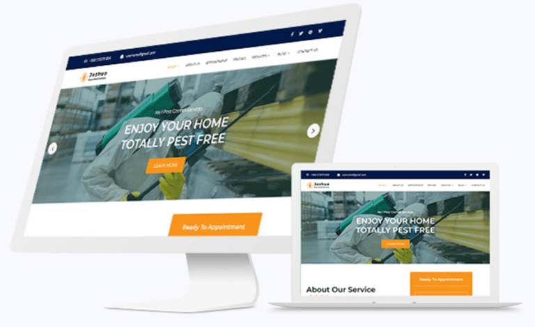 Website Design Pest Control