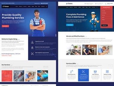 Website Design Plumbing