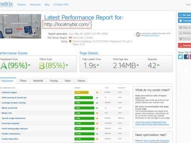 Website Speed Optimization Service