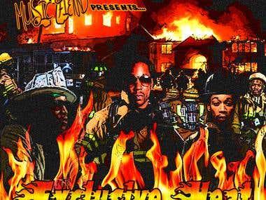 """""""Exclusive Heat"""" Mixtape Cover"""