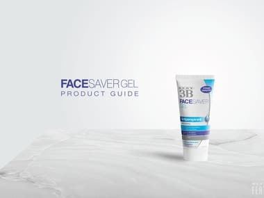 Brochure Design - Face Saver Product