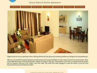 Clipper Suites Web Site