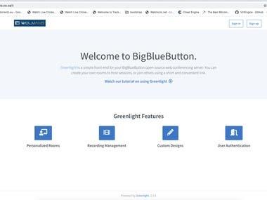 BigBlueButton GreenLight