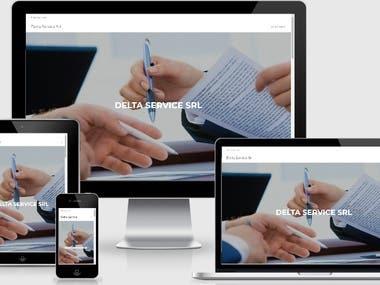 Sito web Delta Service
